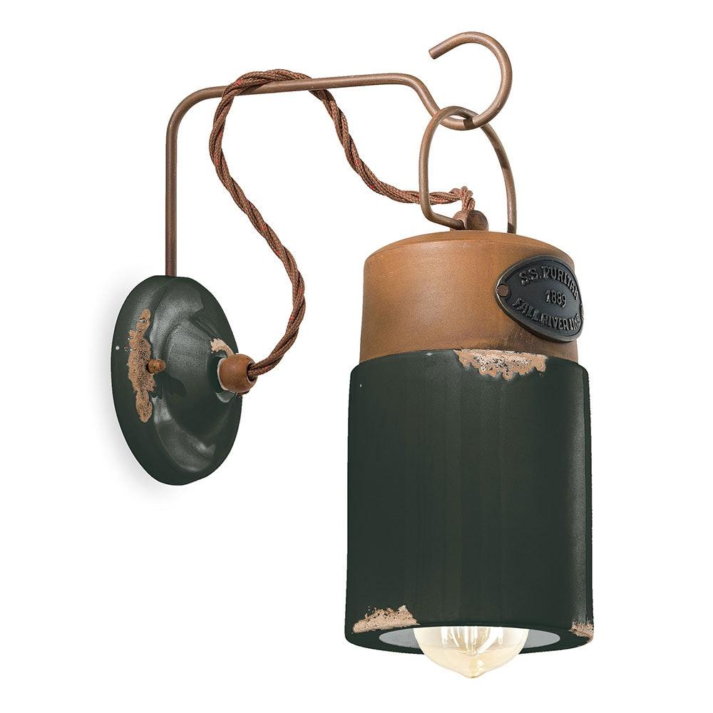 Ferroluce Industrial Wandlampe 6