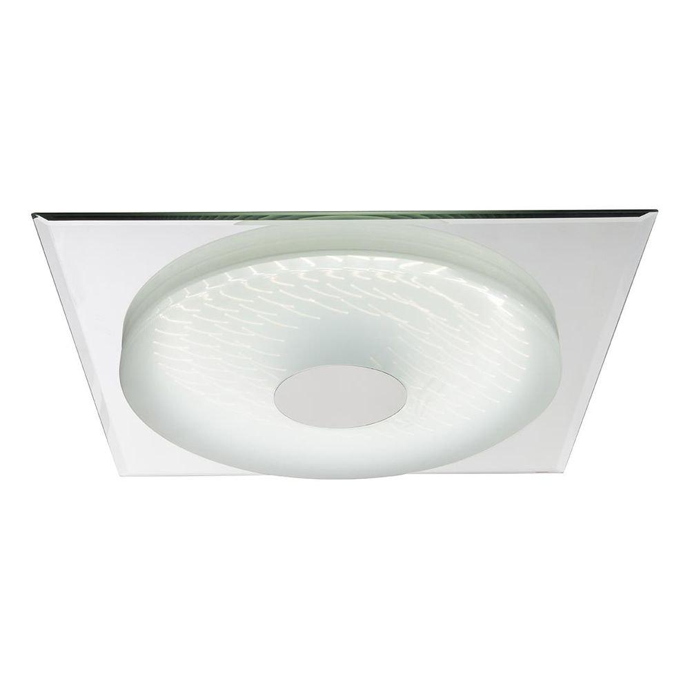 Treviso I Deckenleuchte LED quadratisch, 3D-Effektfolie, 3000K-4500K-6000K, dimmbar 2000lm 5