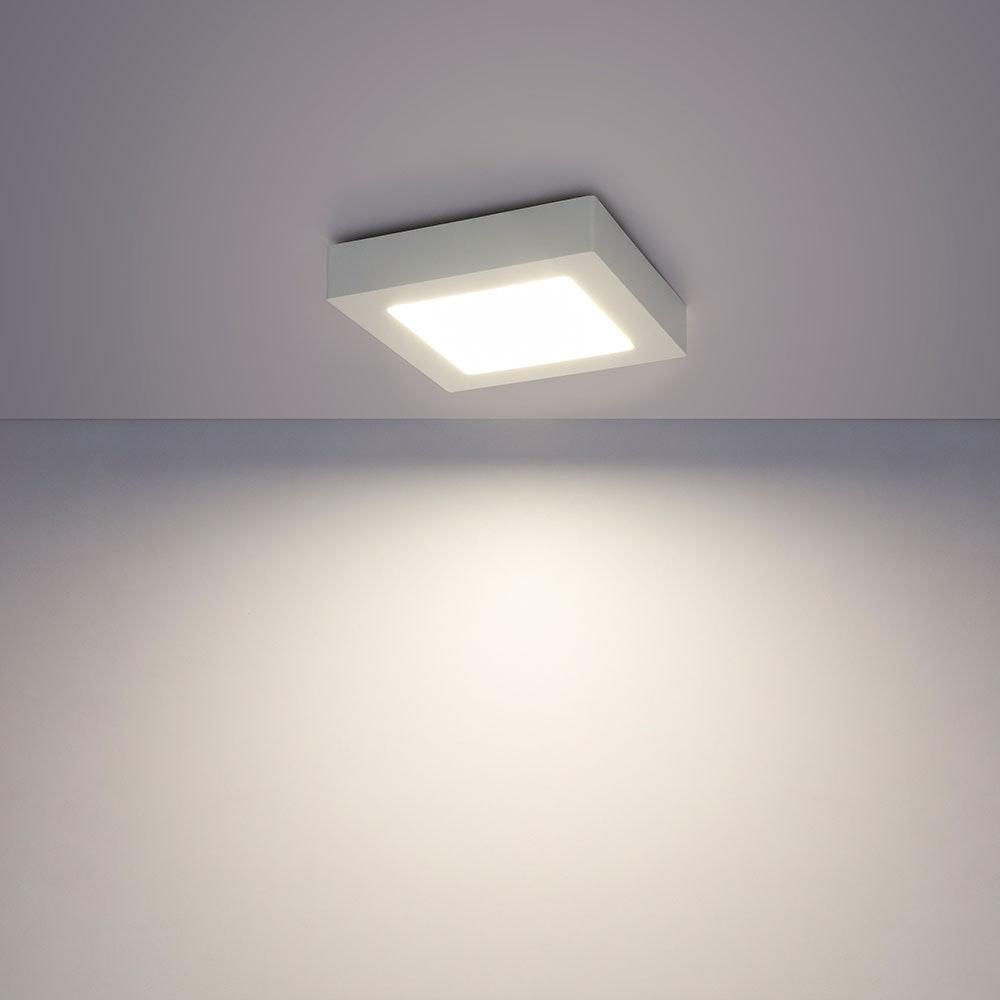 LED Deckenleuchte Svenja Weiß, Opal 1