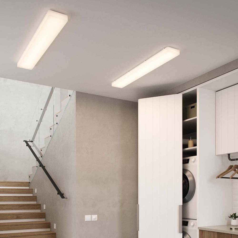 Nordlux LED Wannenleuchte Trenton 117cm Weiß