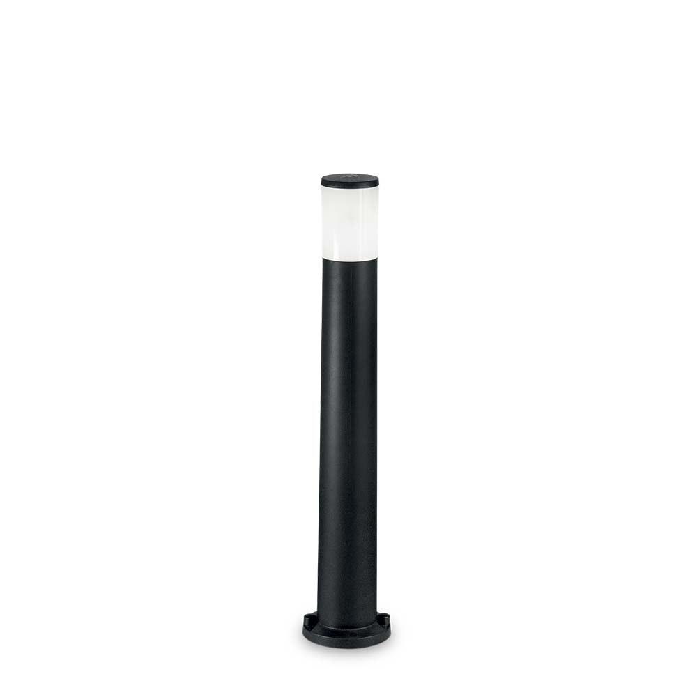 Ideal Lux Pollerlampe Amelia IP55 Schwarz