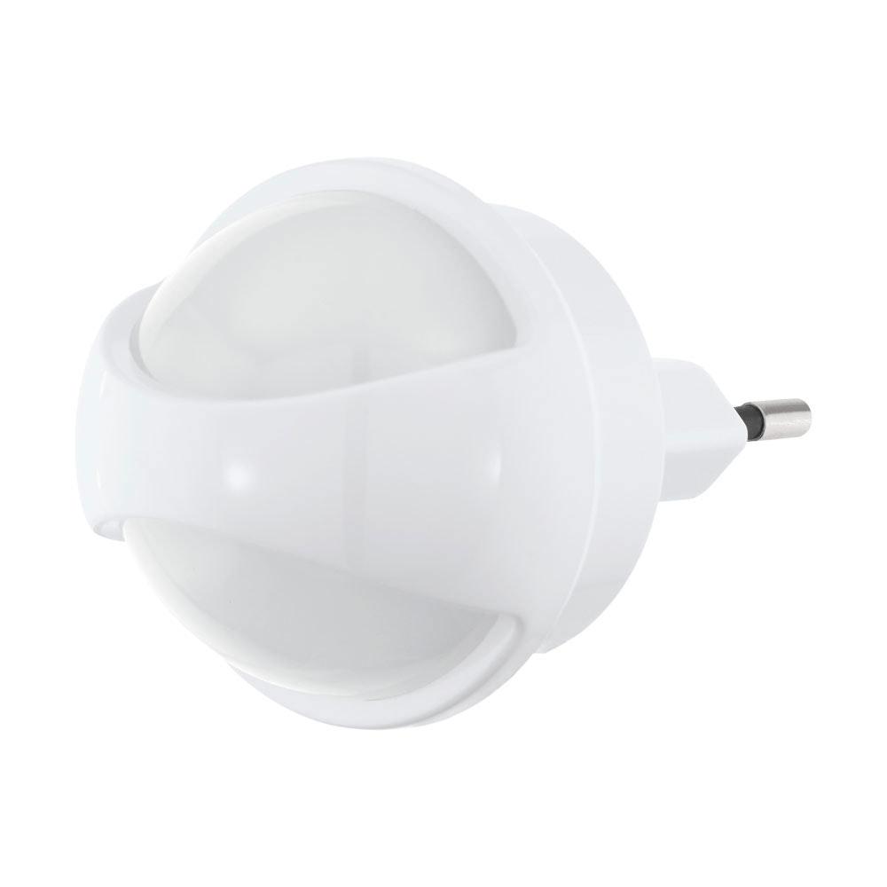 LED Steckerleuchte Tineo mit Sensor Nachtlicht Weiß