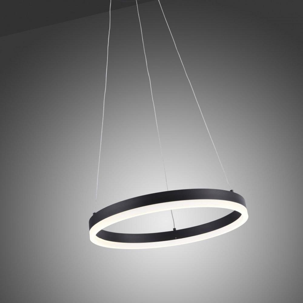 Ring S LED-Hängeleuchte dimmbar über Schalter Ø 40cm Anthrazit 1
