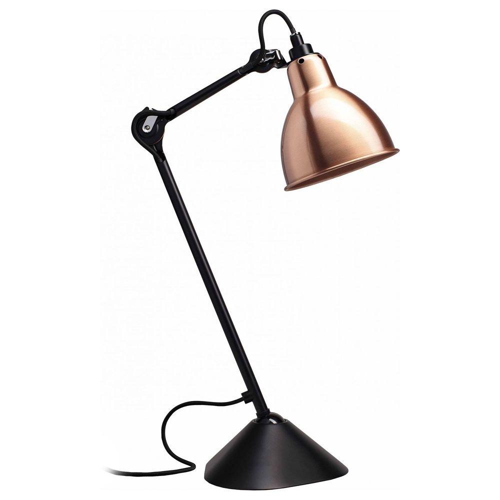 DCW Gras N°205 Tischlampe mit Schirm schwenkbar 12