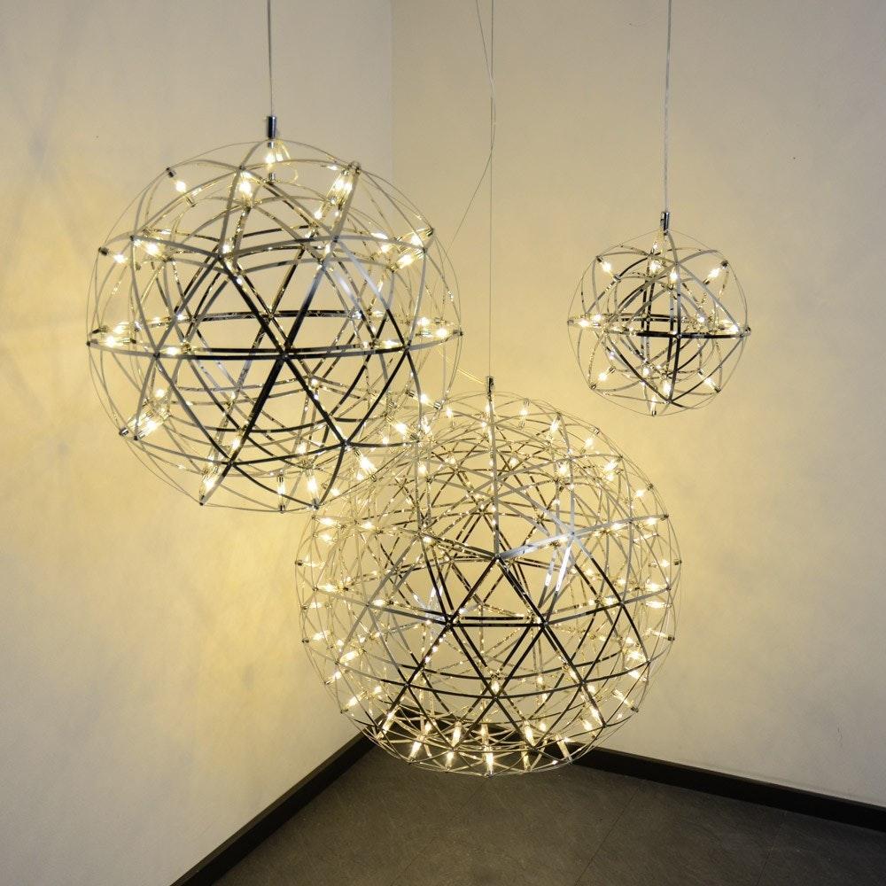 s.LUCE pro Atom 30 dimmbare LED-Hängeleuchte Metallkugel 1