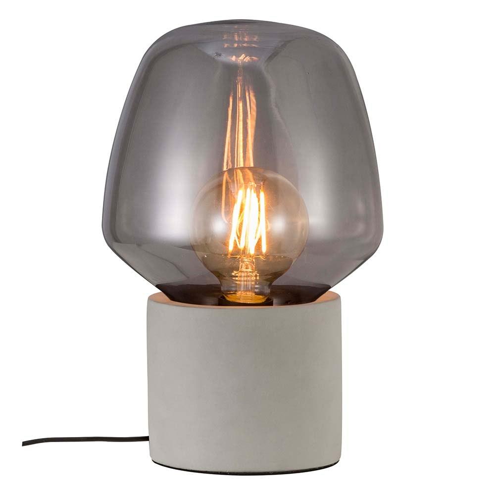 Nordlux Tischlampe Christina Hellgrau, Rauchfarben 2