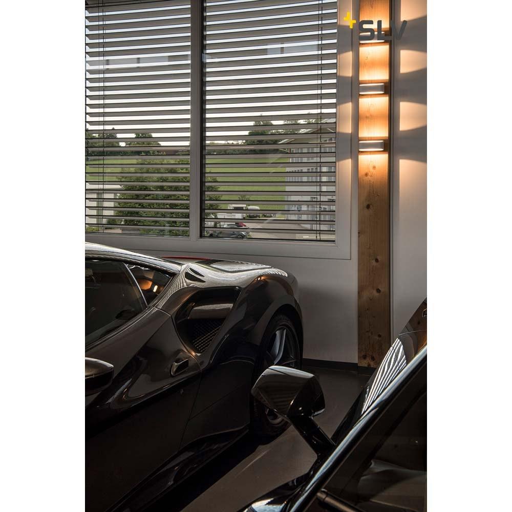 SLV Asso LED Wandleuchte Weiß 2000K-3000K Dim To Warm 3