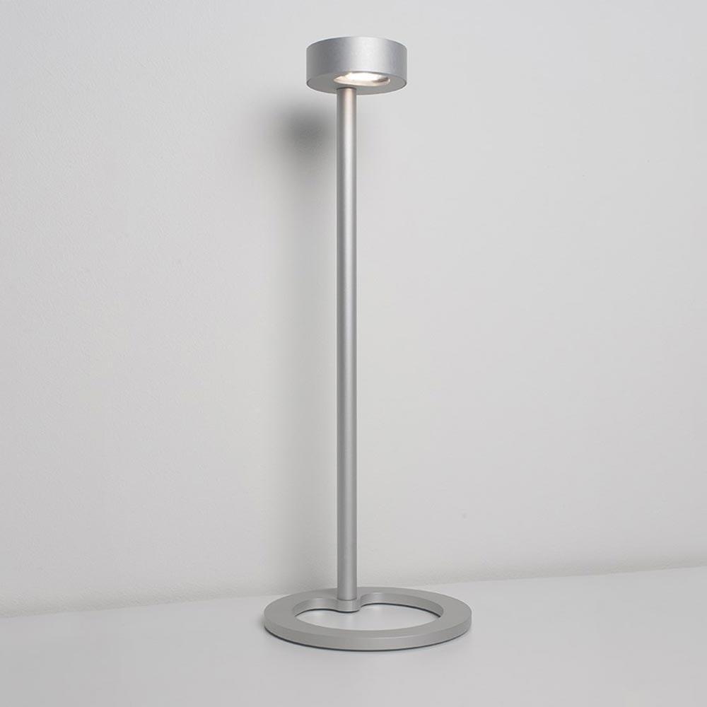 Molto Luce Iven LED Tischleuchte asymetrisch 3-Stufen Touch Alu 2