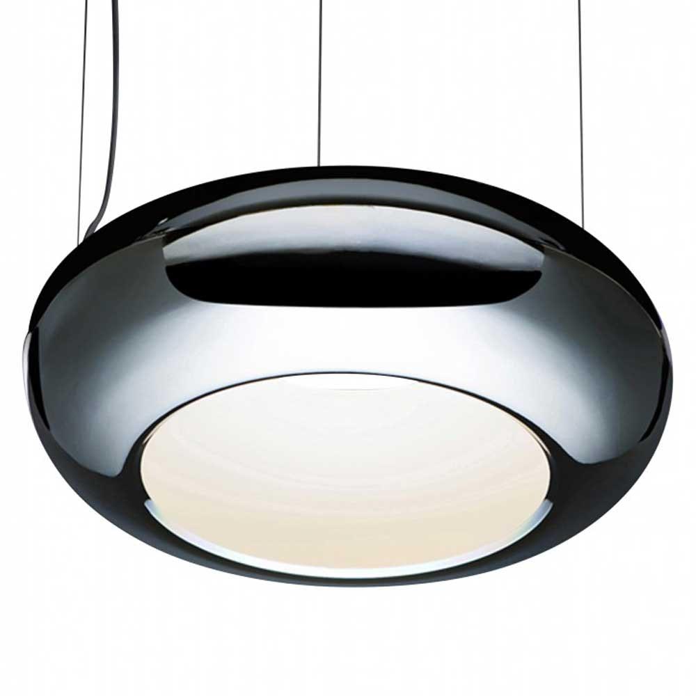LED Pendelleuchte Ring Aura 01 Ø 61cm Dimmbar Chrom