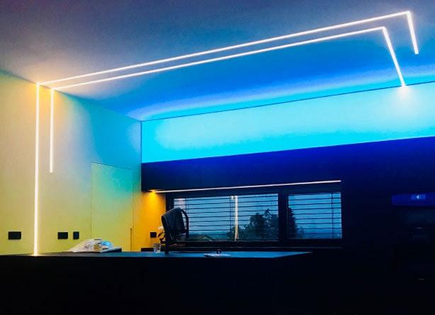 LED strips Wohnraum