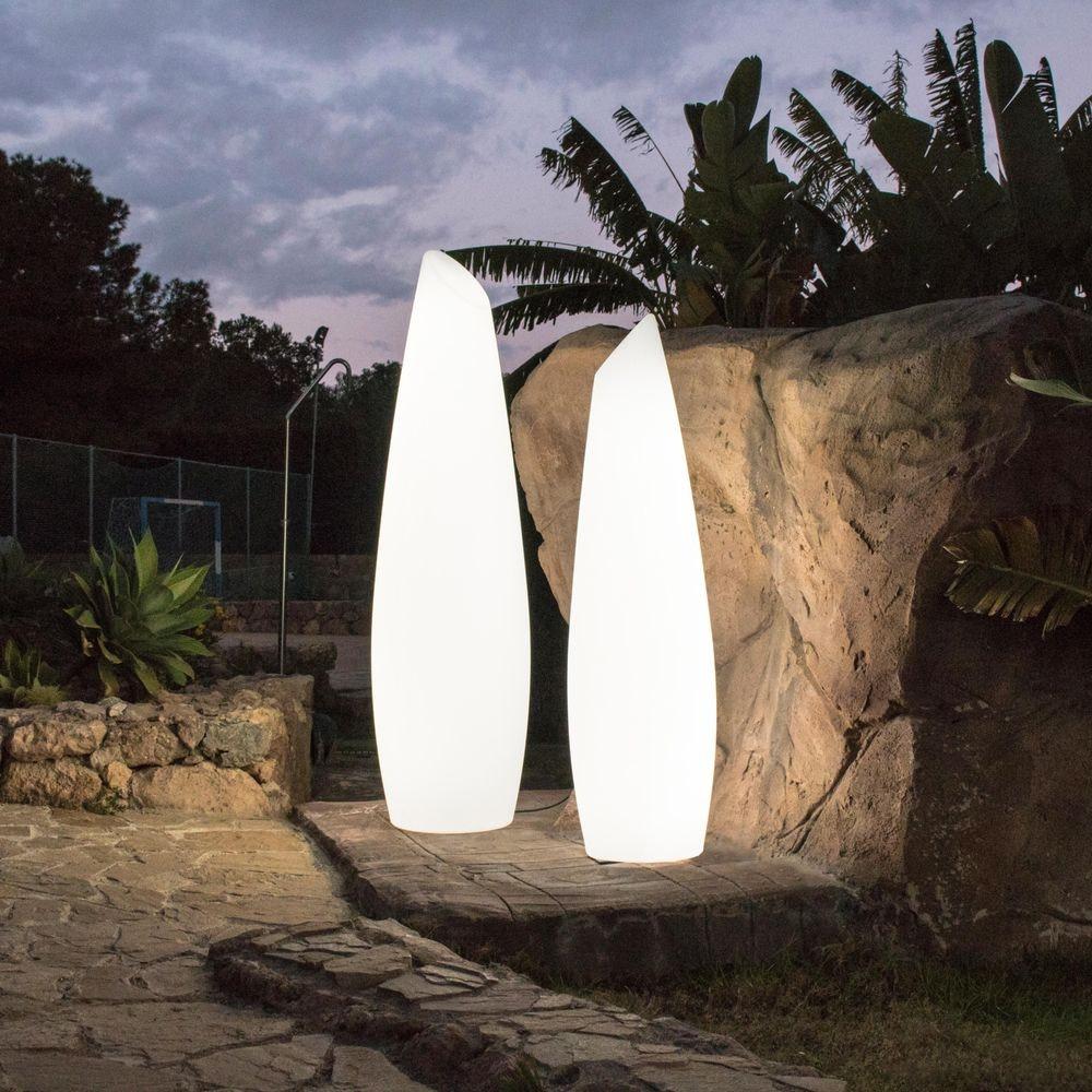 Licht-Trend Fredo LED-Außen-Stehleuchte mit Akku und Fernbedienung  5