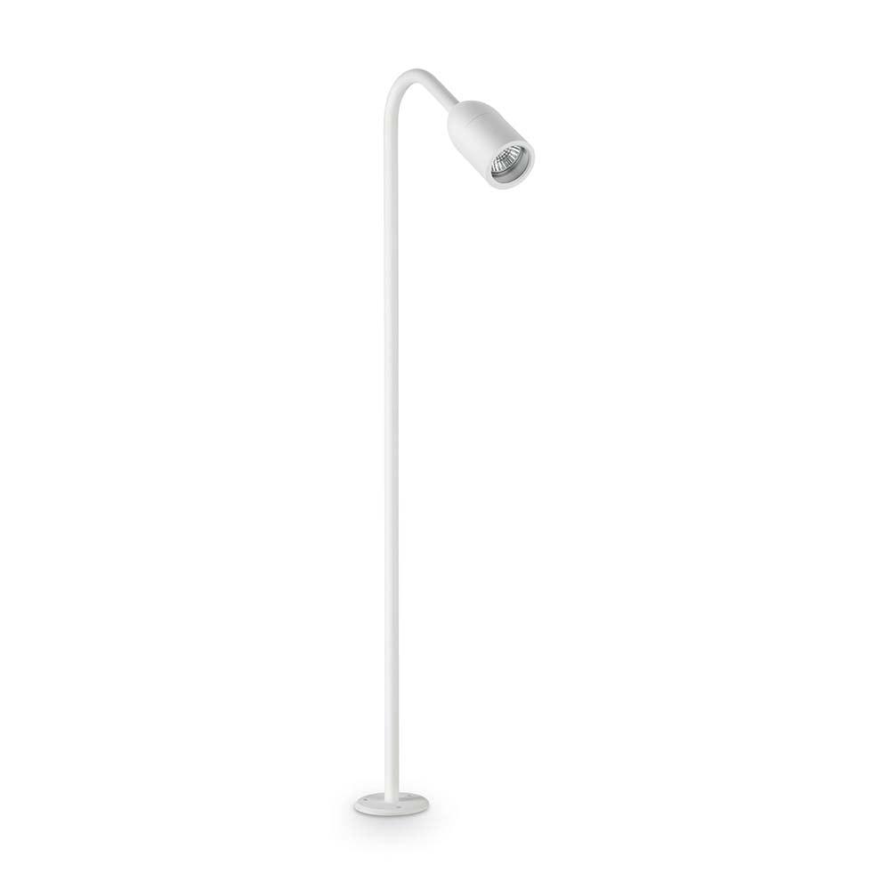 Ideal Lux Aussen-Stehleuchte Loop Pt1 Gross IP44 Weiß