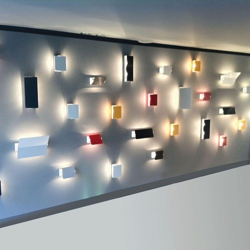 Nemo Applique À Volet Pivotant Plié LED Wandlampe 26x34 4