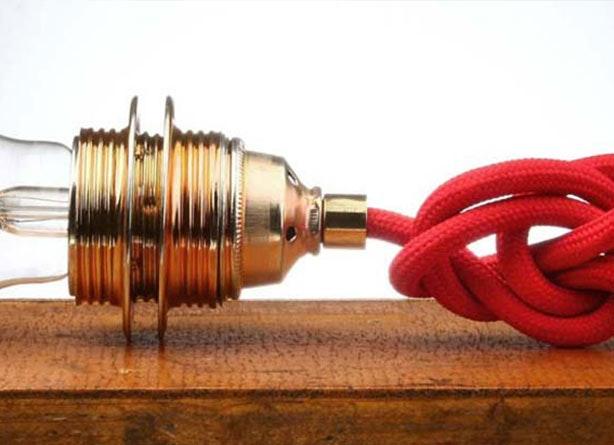 Kabelverlängerung Lampe