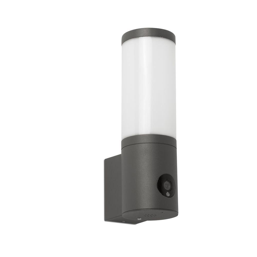 Orwell Outdoor LED Wandleuchte mit Kamera IP54 Anthrazit
