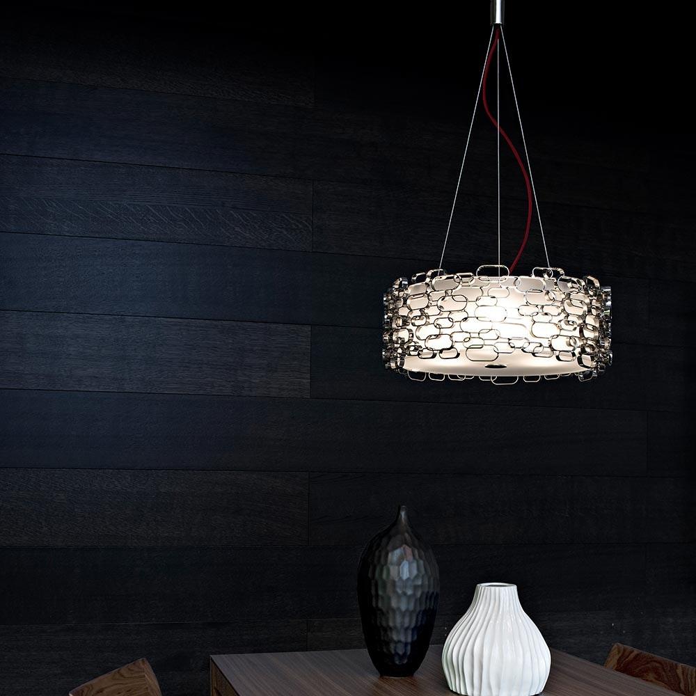 Terzani Glamour Design-Hängelampe Ø 45cm 5