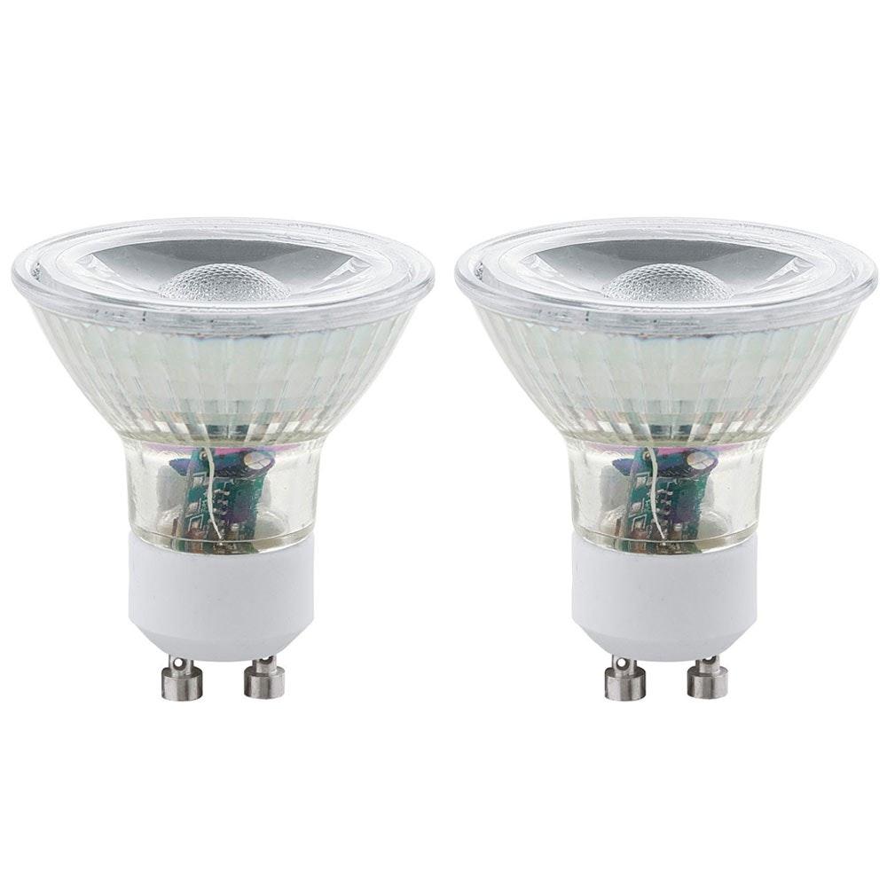 GU10 LED Spot 2er-Set 3W 240lm Warmweiß 1