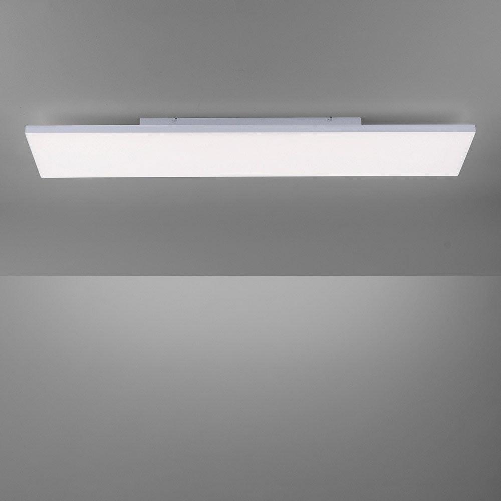 Q-Flat 2.0 rahmenloses LED Deckenleuchte 100 x 25cm CCT + FB Weiß thumbnail 6