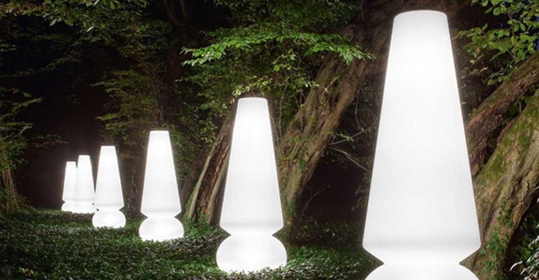 Außenstehleuchte Linea Light garten