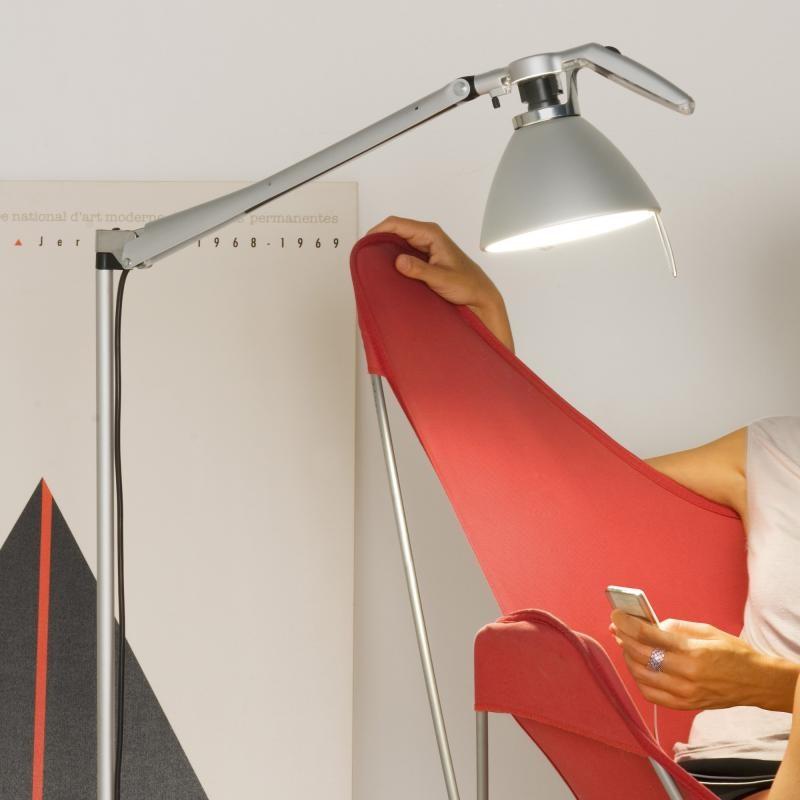 Luceplan Fortebraccio Stehlampe 92cm (Körper) 1