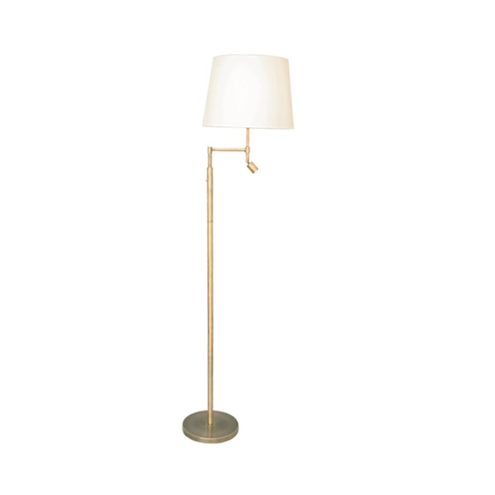 By Rydens Stehlampe Orlando 138cm mit LED-Lesearm