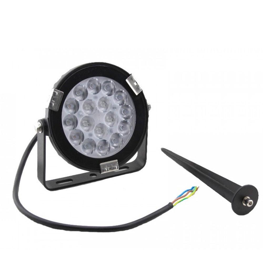s.LUCE LED-Gartenstrahler iLight 9W RGB + CCT 4
