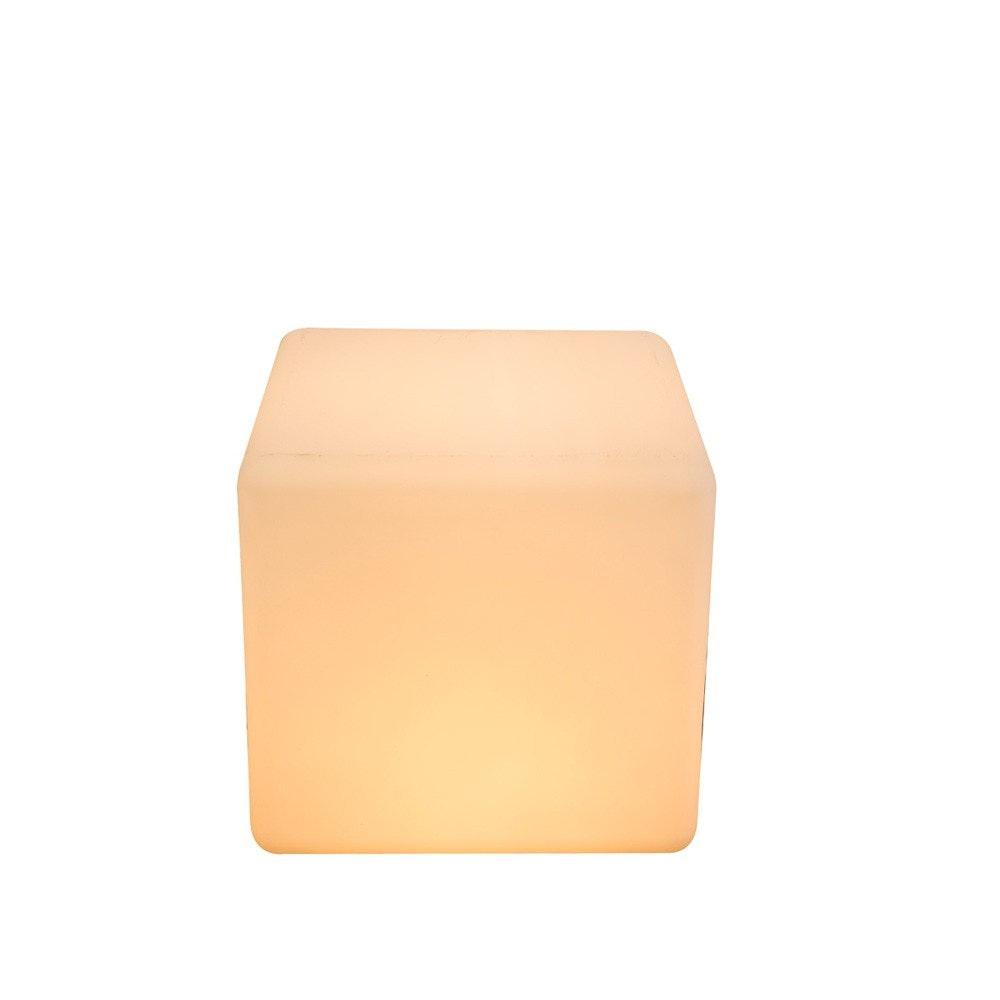 Cavez Leuchtwürfel 30 x 30cm Außenleuchte aus Kunststoff 3