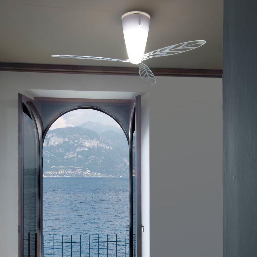 Luceplan Blow Ventilator (Körper) Ø140cm Opalweiß 1