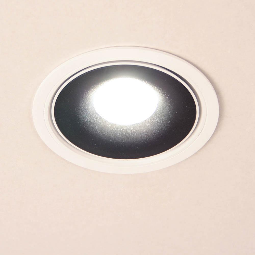 Santa LED Einbauspot schwenkbar & dimmbar 810lm Weiß, Schwarz 4