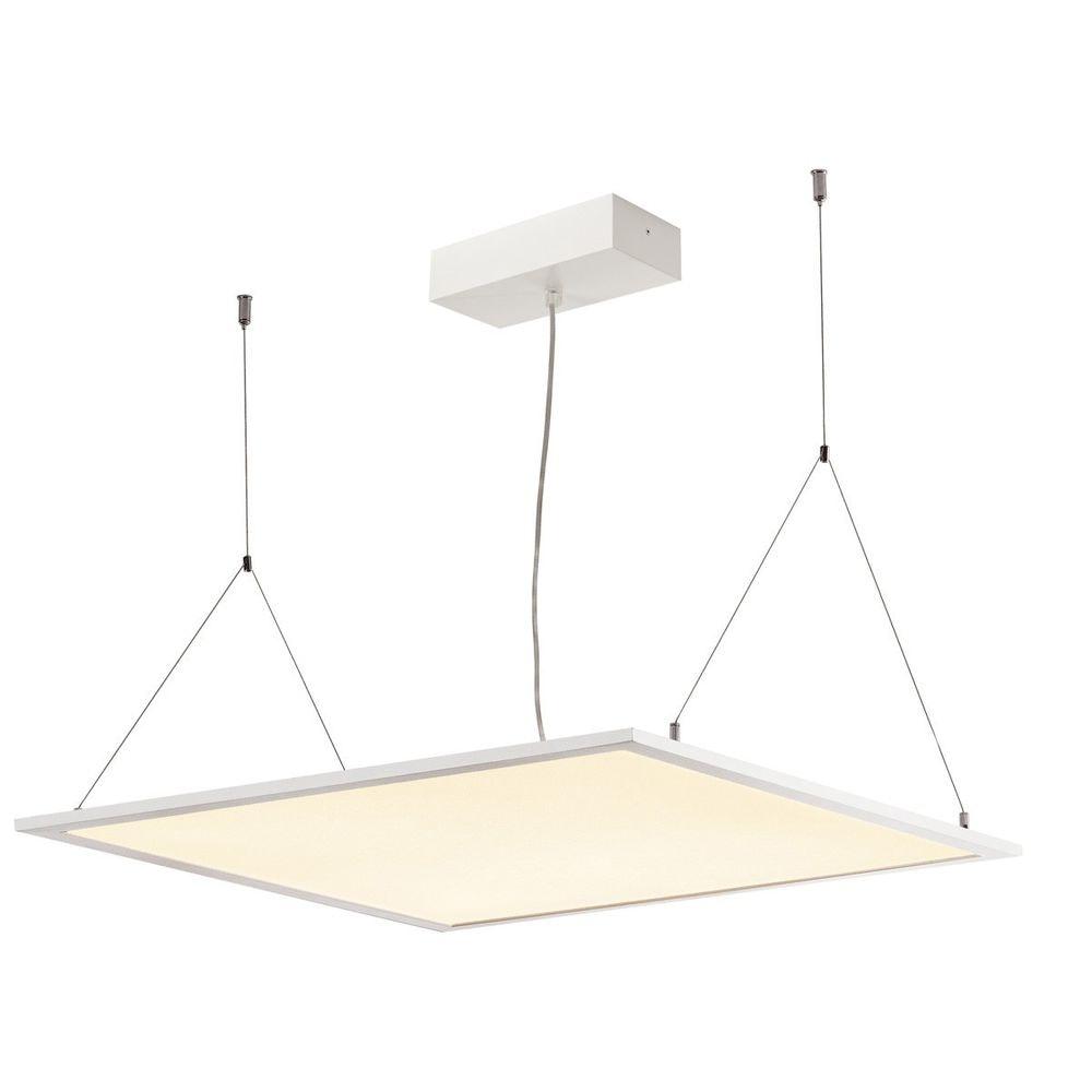 SLV I-Vidual Premium LED Panel für Rasterdecken 62x62cm 3000K Weiß 2