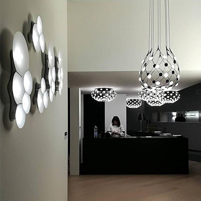 Luceplan LED Wandlampe Bulbullia 62x37cm 2
