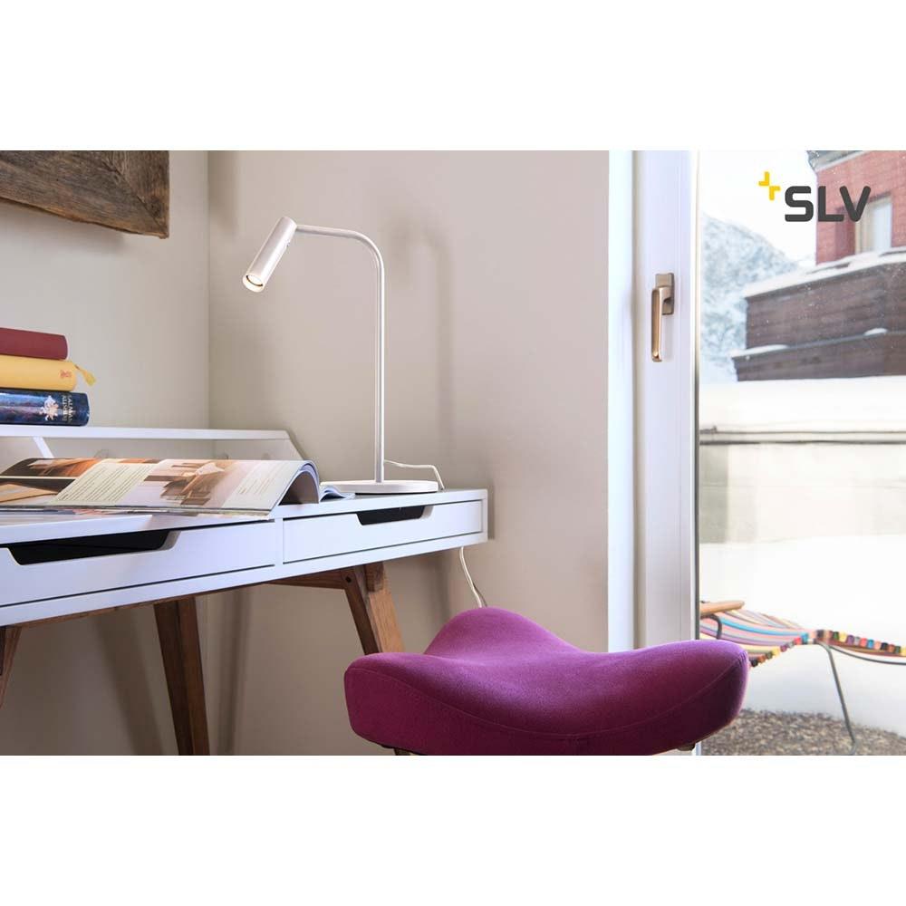 SLV Karpo LED Tischleuchte Weiß 3000K 2