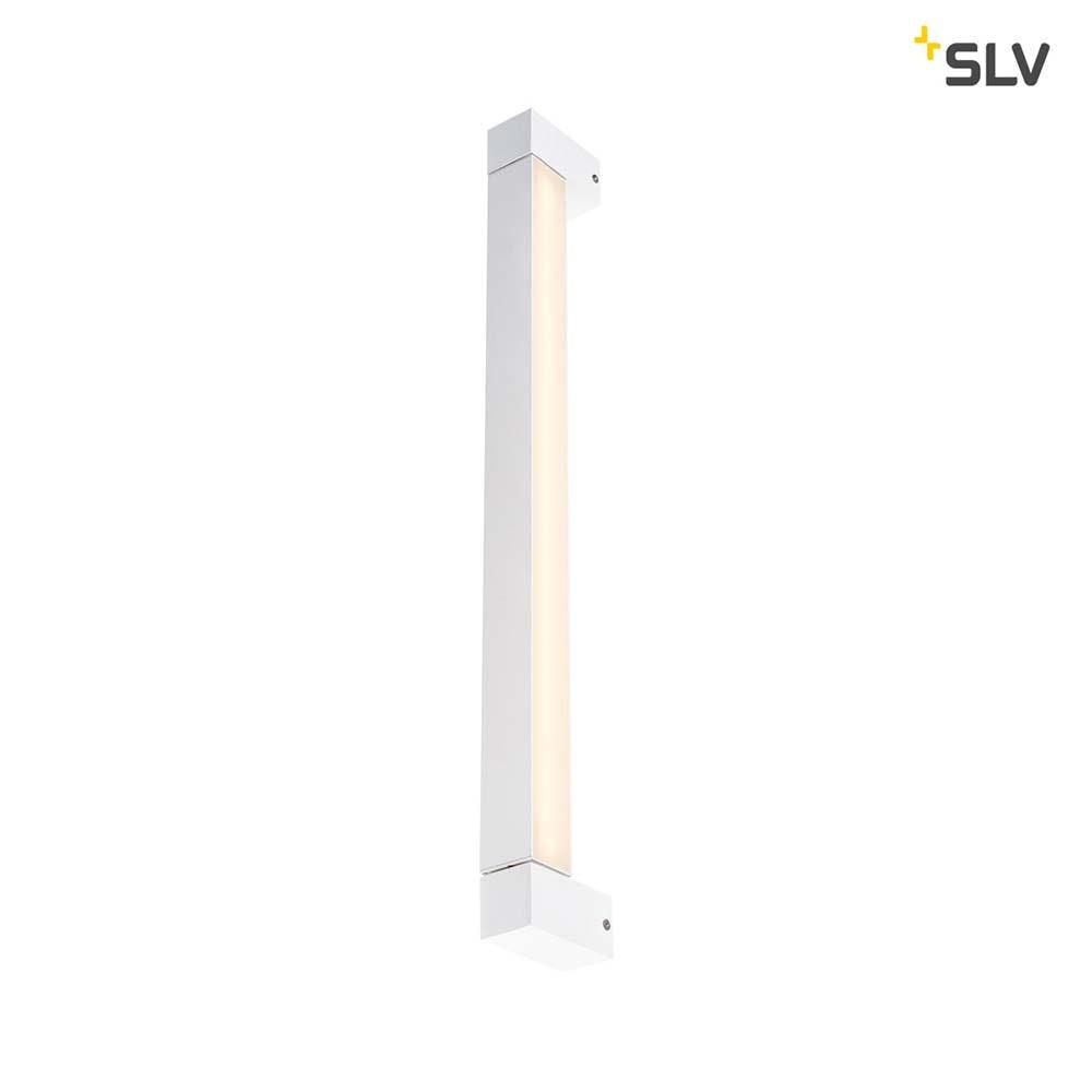 SLV Long Grill LED Wand- und Deckenleuchte Weiß 3000K 6