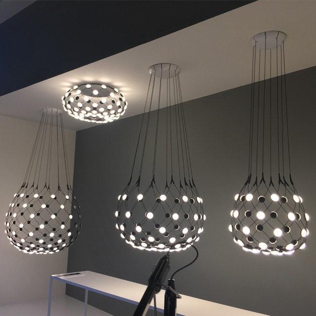 Luceplan LED Deckenlampe Mesh Ø 72cm 3