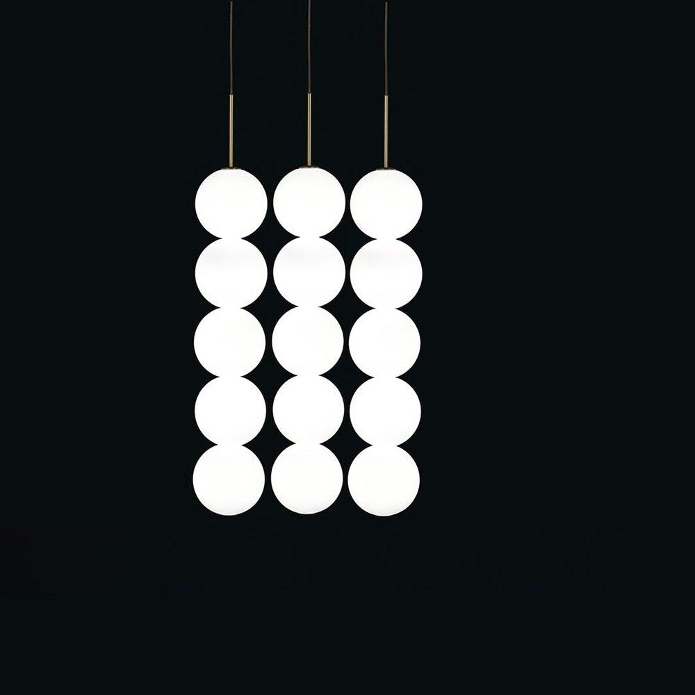 Terzani Abacus LED Design-Hängelampe 3er 1
