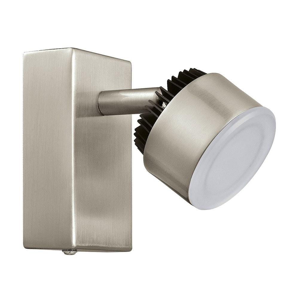 Armento 1 LED Spot Nickel-Matt, Schwarz