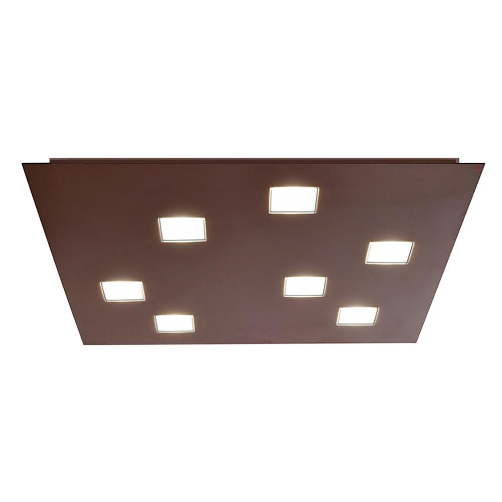 Fabbian Quarter LED-Deckenleuchte quadratisch 7-flammig 3