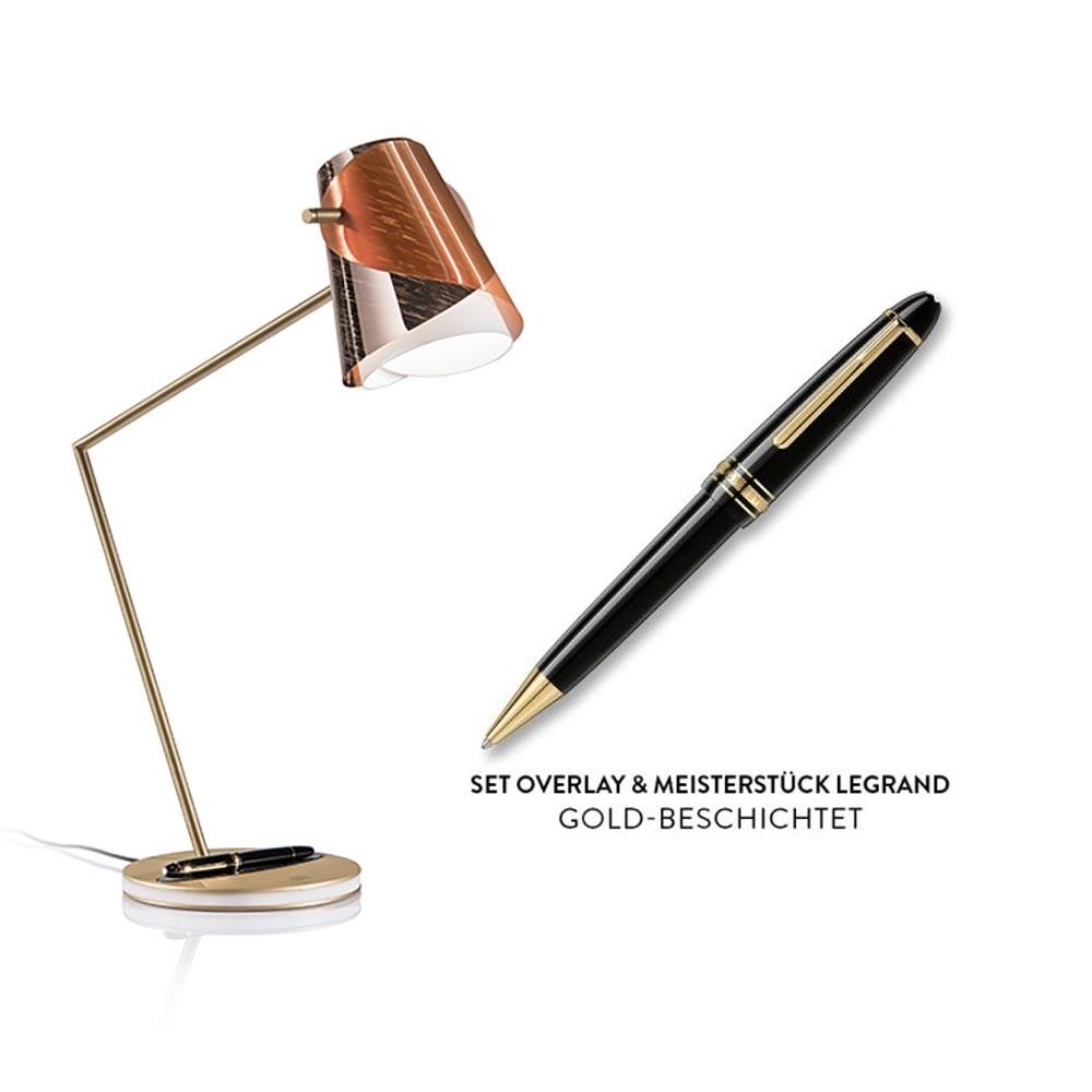 Slamp LED Schreibtischlampe Overlay & Montblanc Meisterstück Le Grand thumbnail 6