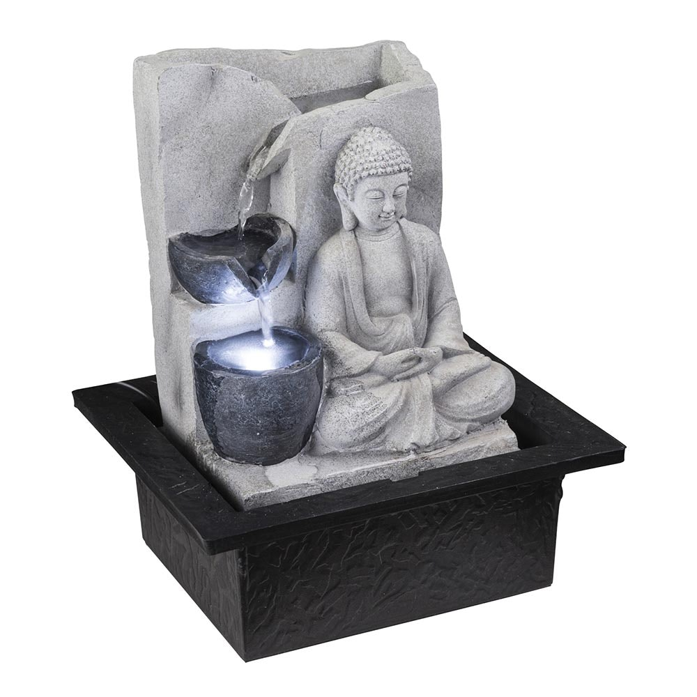 Albert Fountain LED Zimmerbrunnen Asia-Style