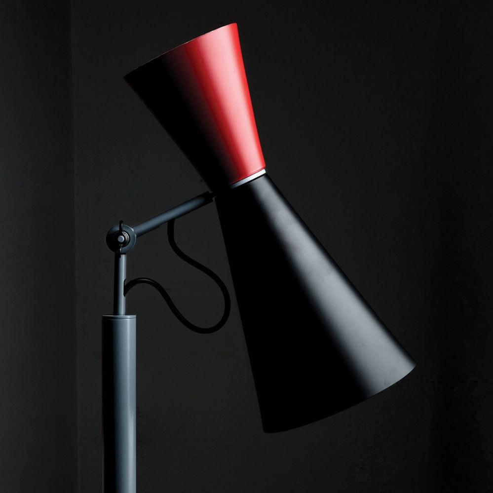 Nemo Parliament Stehlampe indirekt/direkt 9