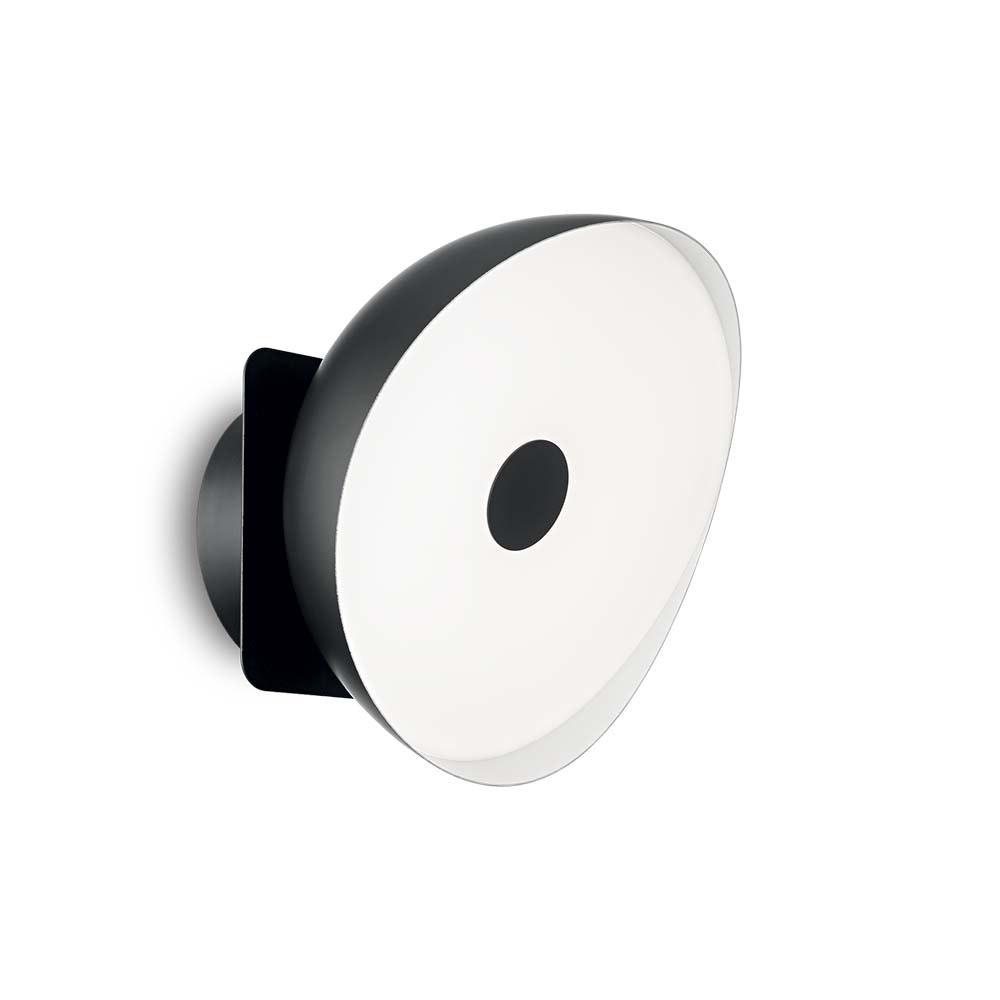 Ideal Lux LED Wandleuchte Barby Mittel Schwarz