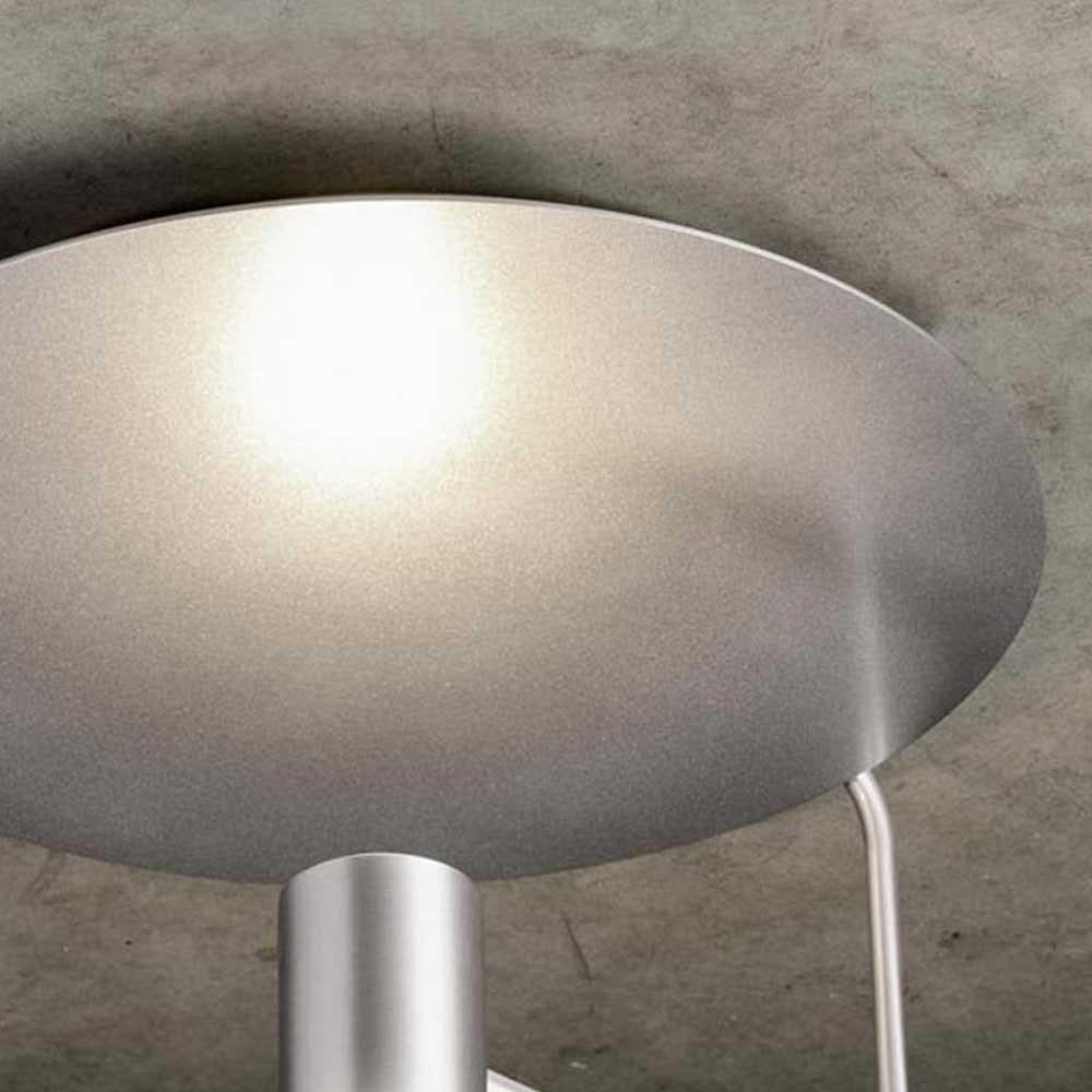 Reflektorplatte für Disc Deckenleuchte Silberfarben 1