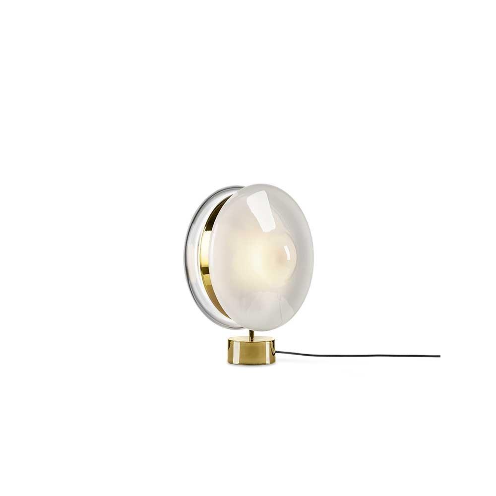 Bomma Glas-Tischlampe Orbital Ø 36cm 2