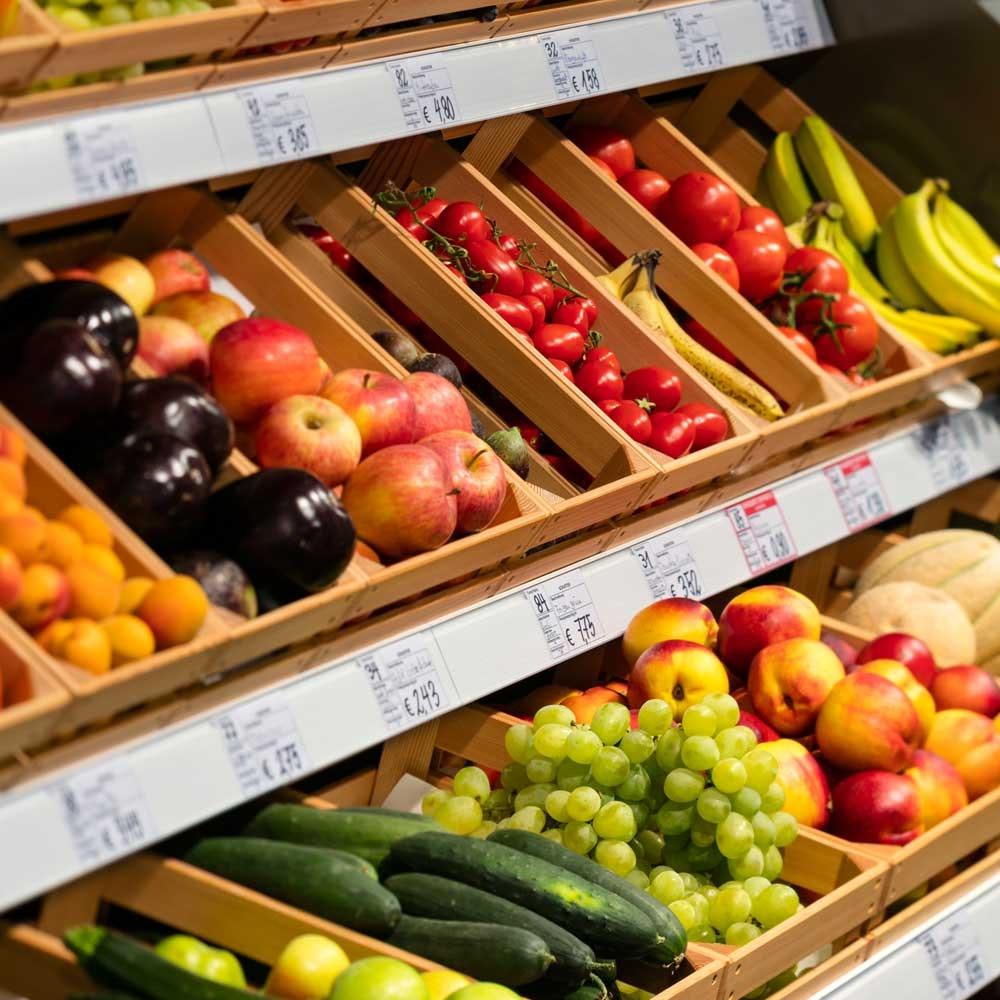 LED-Leuchtmittel für Obst & Gemüse 2847lm fokussierbar 35°-50° für Einbaurahmen SHOP 2