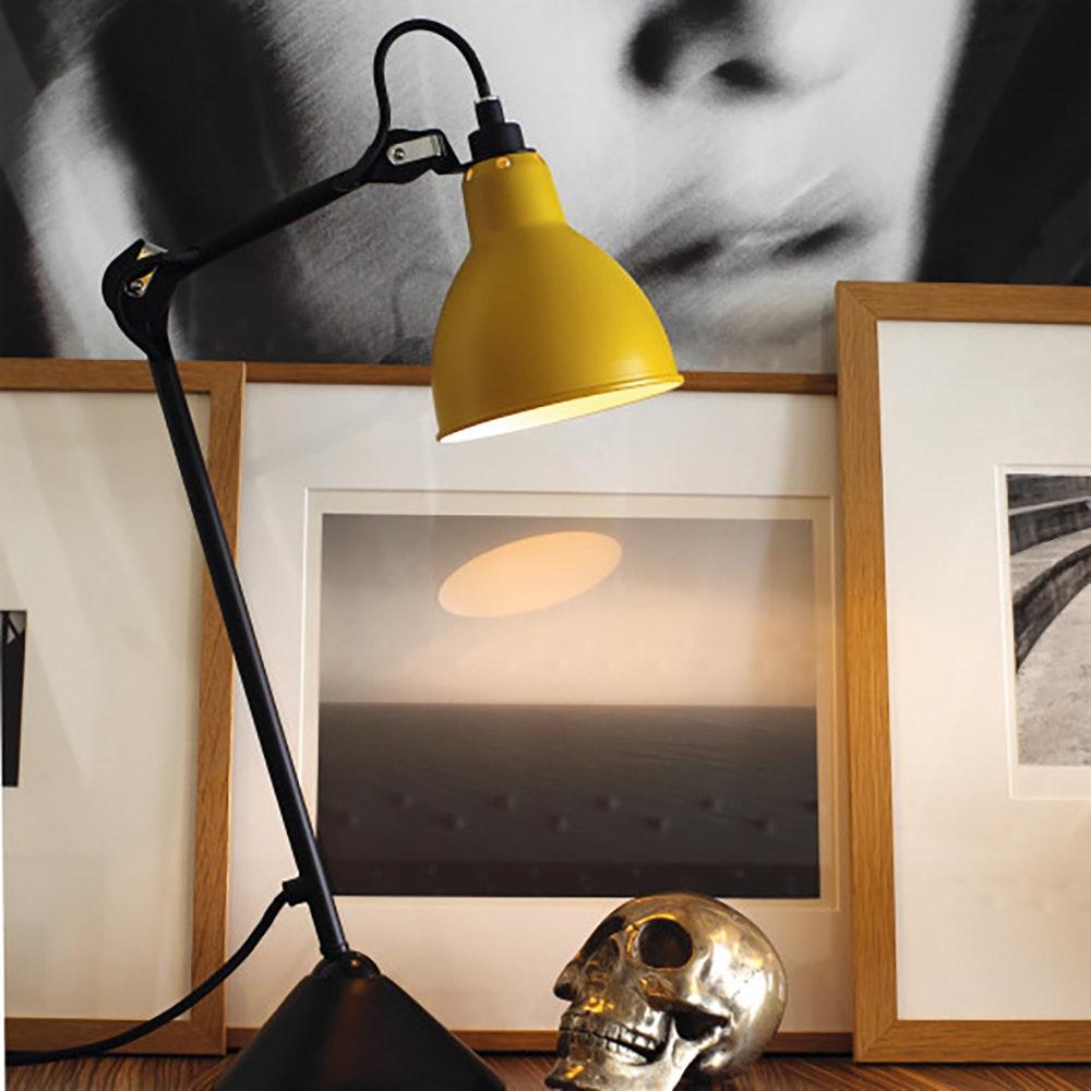 DCW Gras N°205 Tischlampe mit Schirm schwenkbar 10