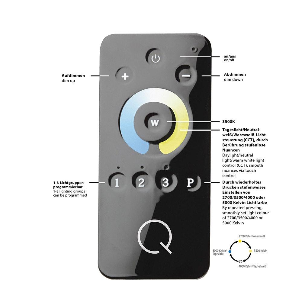 LED Deckenlampe Q-Inigo 9