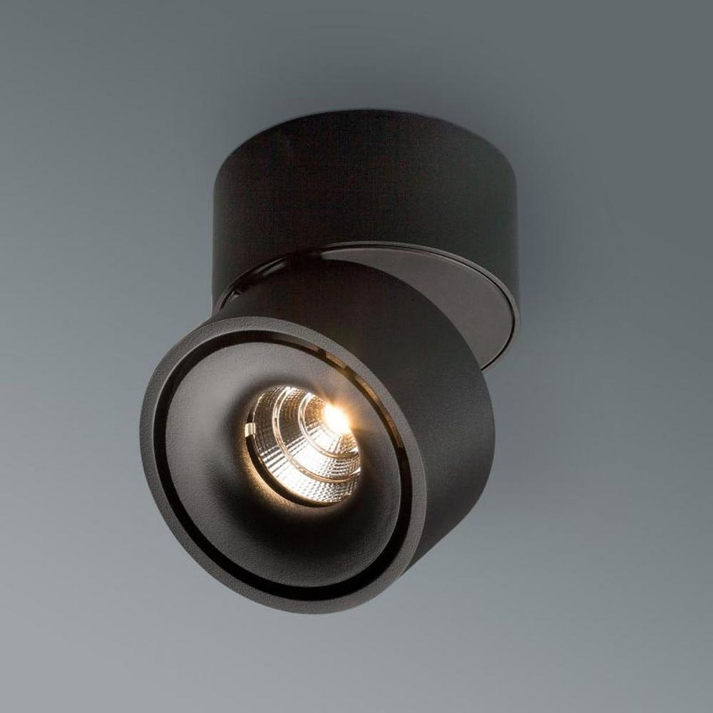 Licht-Trend LED Aufbaulampe Simple 680lm Schwarz 3