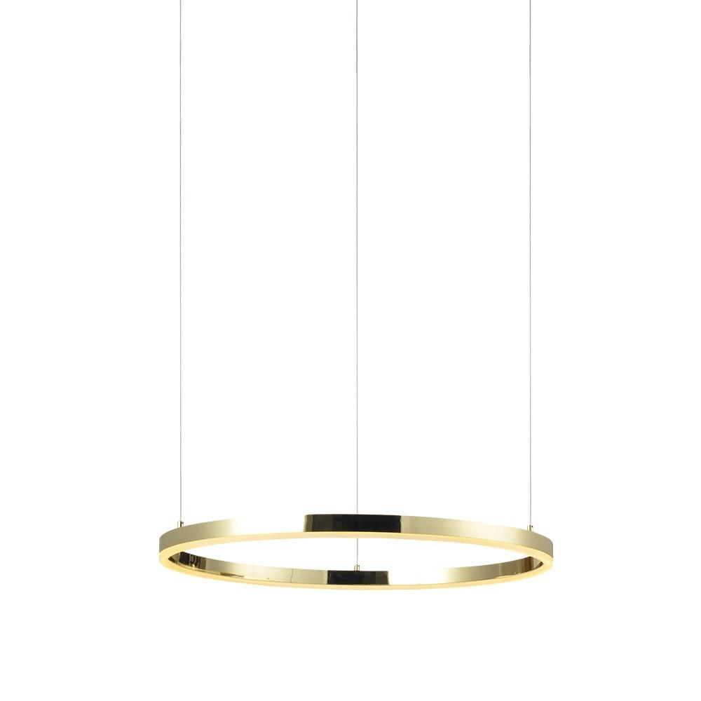s.LUCE Ring 40 LED-Hängelampe 5m Abhängung 13
