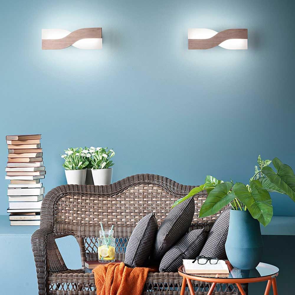Fabas Luce LED Wandlampe Riace Metall 3