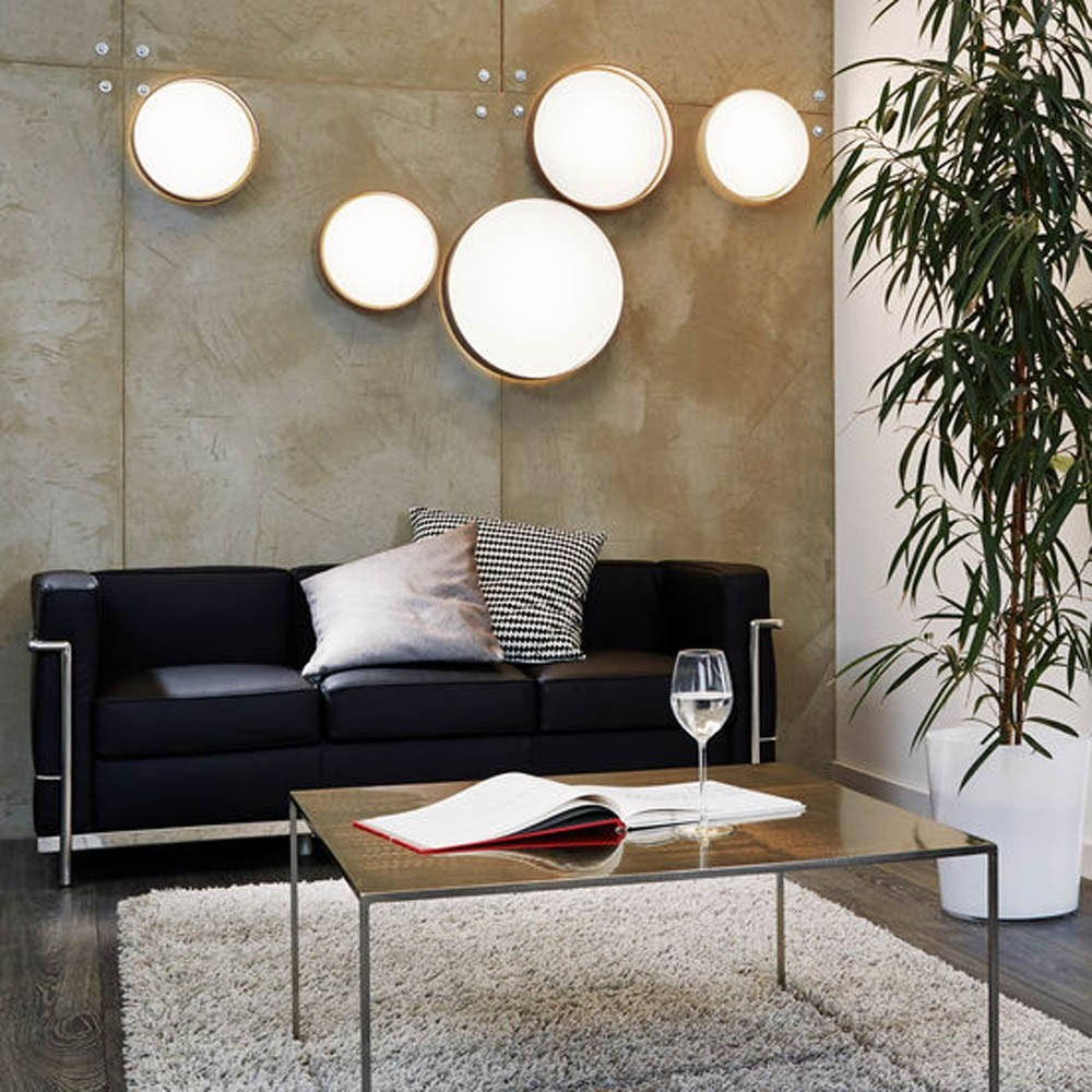 Palo LED Decken- & Wandleuchte Ø 32cm Creme 3
